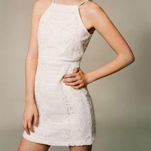 Topshop lace bodycon dress